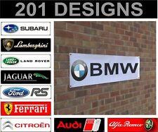 volvo banner sign workshop garage track advertisement