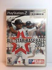 PS2 ALL-STAR BASEBALL 2002 ( Sony PlayStation 2 )
