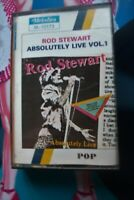 Rare  Cassette tape Album - Rod Stewart - Absolutely Live vol 1
