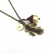 Bronze Acorn Necklace, Gift for Women, Girls Gift, Personalised Christmas Gift