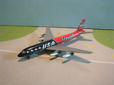 GEMINI JETS (GJONA563) OVERSEAS NATIONAL DC8-21 1:400 SCALE DIECAST METAL MODEL