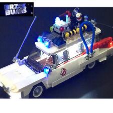 LEGO 21108 brickbums Kit di illuminazione personalizzati per ECTO 1 NUOVO INCLUDE USB AA Power Pack