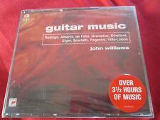 John Williams Guitar Music Sony Classical 509399 2 Three 3 CD Album SET