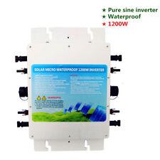1000w Windkraftgenerator Grid Tie Inverter Wechselrichter MPPT Function