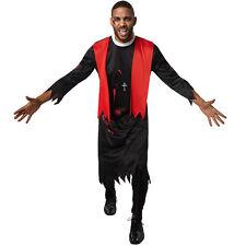 Kostüm Herren Zombie Priester Pfarrer Pastor Horror Fasnacht Karneval Halloween