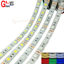 5M LED Strip 5050 DC24V 60LED/m Flexible LED Light RGB Warm White Red Green Blue