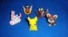 Pokemon Finger Puppet Lot of 5 New Unused