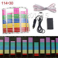 RGB Light for Car Music Sticker Activated Equalizer Glow Rhythm 114x30cm