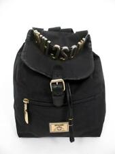 MOSCHINO REDWALL BAGS ITALY BLACK LIGHTWEIGHT NYLON BACKPACK SMALL PURSE TOTE