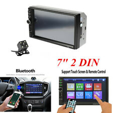 """Bluetooth Double 2 DIN Car FM Stereo Radio Multimedia MP5 Player Touch Screen 7"""""""
