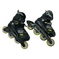 Bladerunner Twist Inline Skates Kid Youth Size 1-4 Adjustable Abec3 Roller Blade