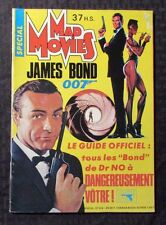 1985 MAD MOVIES French Magazine #37 FN 6.0 James Bond DR NO