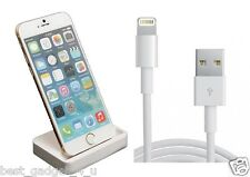 Sync Carga Cradle Dock Station Cargador Para Iphone 6/6 Plus + Libre 1m Cable Usb