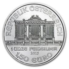 2015 1.50 Euro Austrian Philharmonic 1 oz .999 Silver Coin