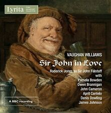 Williams / Philharmo - Vaughan Williams: Sir John in Love [New CD]