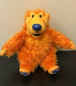 "Bear in the Big Blue House Bear Large 14"" Beanbag Stuffed Plush - Mattel 1998"