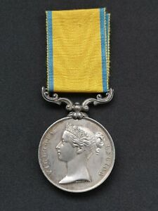 19th Century Military Medal Baltic War 1854-1855 Unnamed As Issued