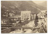 Francia per Identificare Vintage Albumina Ca 1875 Piccolo Formato