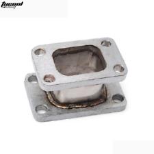 T25 T28 T2 to T3 Turbocharger Manifold Exhaust Turbo Flange Adapter Garrett