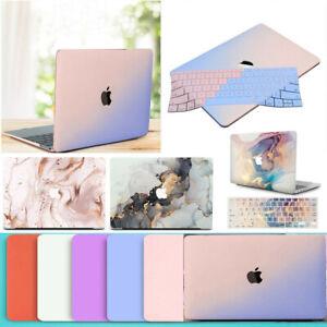 Metallic Cream Matte Hard Case+Keyboard Cover for Macbook Air Pro 11 13 15 / M1