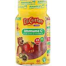 L'il Critters Immune C Plus Zinc & Vitamin D 60 Gummies