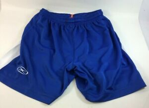 XARA Youth Medium Blue Soccer Shorts NEW BB5