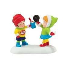 "Dept. 56 North Pole Village ""DQ® YUMMY TREATS TO EAT"" ~  NEW ~ MIB!!"