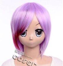 W-114 vocaloid type-H sakine MEIKO Cosplay perruque wig rose pink violet purple