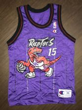 Vintage Men's Toronto Raptors Vince Carter Champion Jersey Size Small