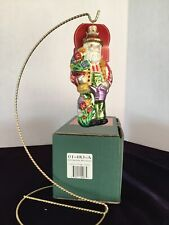 "Springtime Bloomers 6"" Slavic Treasures 01-483A Ornament-St Nicholas Series Nib"