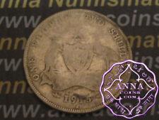Australia 1915 H George V Florin X1, Average Circulated Condition