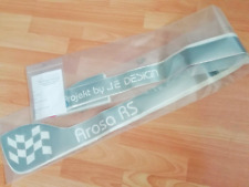 """""""AROSA RS""""   FRONT & SIDE GRAPHICS for SEAT AROSA Mk1 by JE DESIGN"""