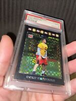 2008 Topps Chrome TC172 Colt Brennan Xfractor Psa 9 rookie Pop 2 W Onky 1 Higher