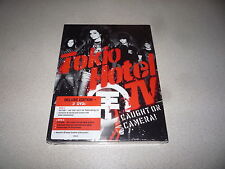 TOKIO HOTEL TV CAUGHT ON CAMERA DVD BRAND NEW AND SEALED