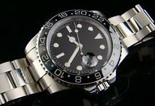 PARNIS GMT 11 / SUBMARINER WATCH CERAMIC BEZEL SS - STUNNING
