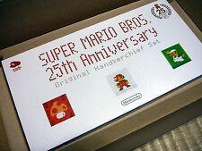 Club Nintendo Super Mario Bros Handkerchief Set hanky