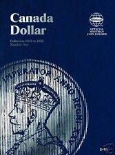 WHITMAN Canada Dollar Number 1 One 1935-1952 Folder Album #2486