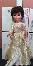 Vintage Uneeda Dollikin Bride Doll NOT Multi Jointed  20""