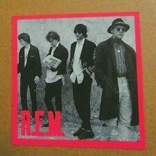 R.E.M Vintage . ~ Sticker Rock Music Rem