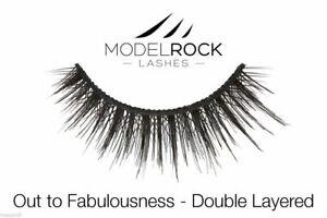 Modelrock Signature Venice Splash - Fake False Double Layered Drama Lashes