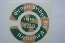 GROOMBRIDGE   BOWLING CLUB  CENTENAR   16 BOWLS STICKERS  8 FINGER + 8 THUMB