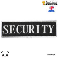 Security Badge Embroidered Iron On Sew On Patch Badge For Clothes etc