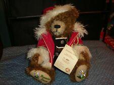 Hermann Bavarian Santa Mohair Bear Growler Limited Edition Made In Germany