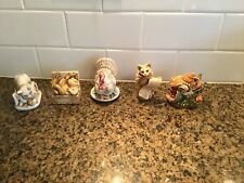 Lot Of 5 Harmony Kingdom Figurines