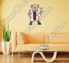 "Laboratory Old Zombie Lab Funny Gift Wall Sticker Room Interior Decor 18""X25"""
