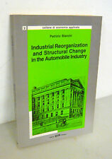 Bianchi,INDUSTRIAL REORGANIZATION,STRUCTURAL CHANGE IN THE AUTOMOBILE INDUSTRY