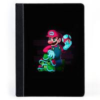 Super Mario Toad NINTENDO Wallet Tablet Leather Case Cover