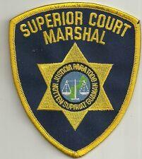 US Marshal United States-Guam Superior Court DISTINTIVO POLIZIA POLICE PATCH