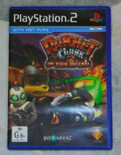 PS2 Ratchet e Clank 3 + ALIEN OMINIDE GIOCHI PLAYSTATION 2 PAL AU * DISCO Nebbia *