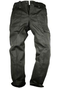 MILITARY OG COMBAT TROUSERS MENS 48w R Plain black SAS bottoms Army cargo pants